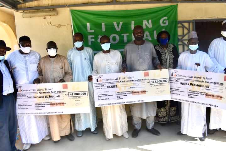 Tchad : La FIFA assiste financièrement la Fédération tchadienne de football