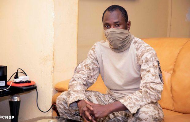Mali : le colonel Assimi Goita assure désormais les fonctions de chef de l'État. © CNSP