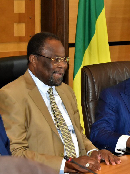 L'Ambassadeur Nagoum Yamassoum, Président de la COSUMAF. ©COSUMAF
