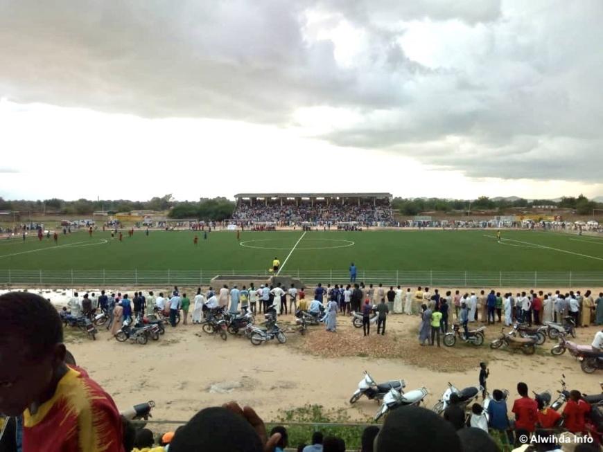 Le stade municipal d'Abéché au Tchad. © Abba Issa/Alwihda Info