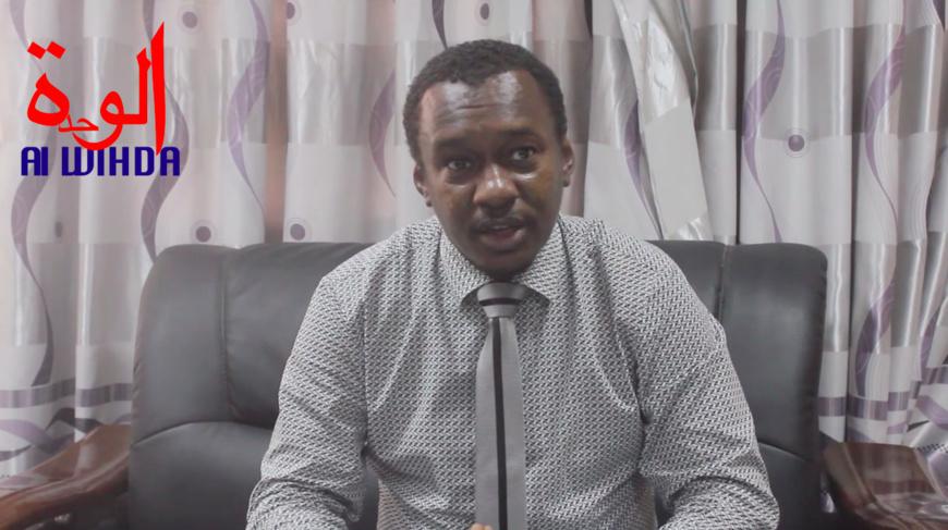 Le secrétaire d'État à la Santé publique et à la Solidarité nationale, Dr. Djiddi Ali Sougoudi. © Ben Kadabio/Alwihda Info