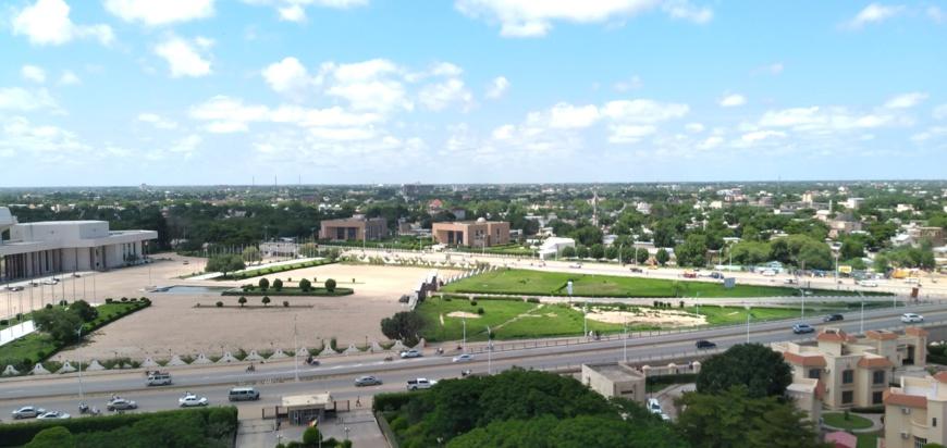 Une vue de la ville de N'Djamena, au Tchad. © Ben Kadabio/Alwihda Info
