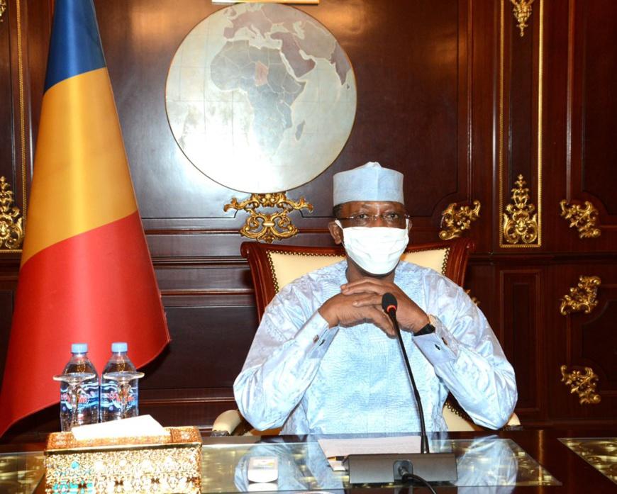 Le chef de l'État du Tchad, Idriss Déby. © PR
