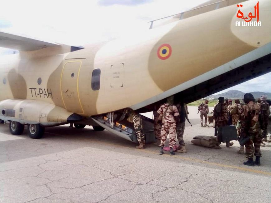 Un avion gros-porteur de l'armée de l'air tchadienne. Illustration. © Alwihda Info