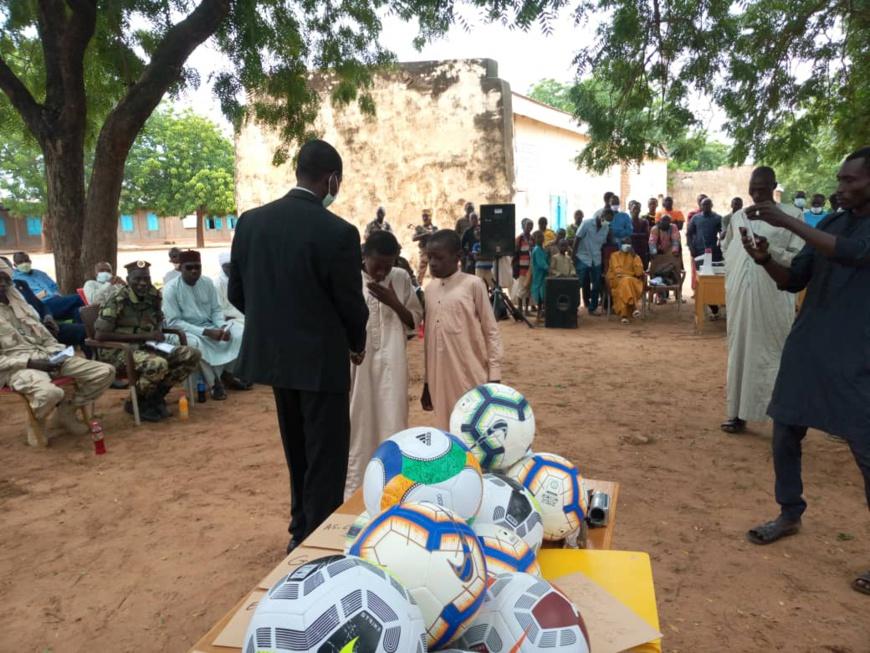 Tchad : la FTFA remet une subvention à la Ligue provinciale de Sila