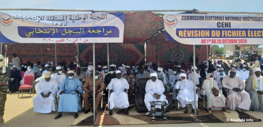 Tchad : lancement de l'opération de révision du fichier électoral à Abéché
