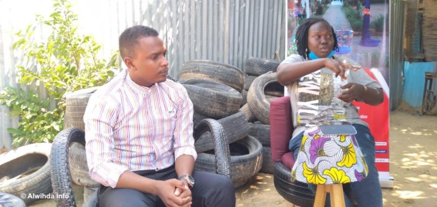 Tchad : l'ambassadeur jeune Adam Ismaël au contact de l'action entrepreneuriale. © Ben Kadabio/Alwihda Info