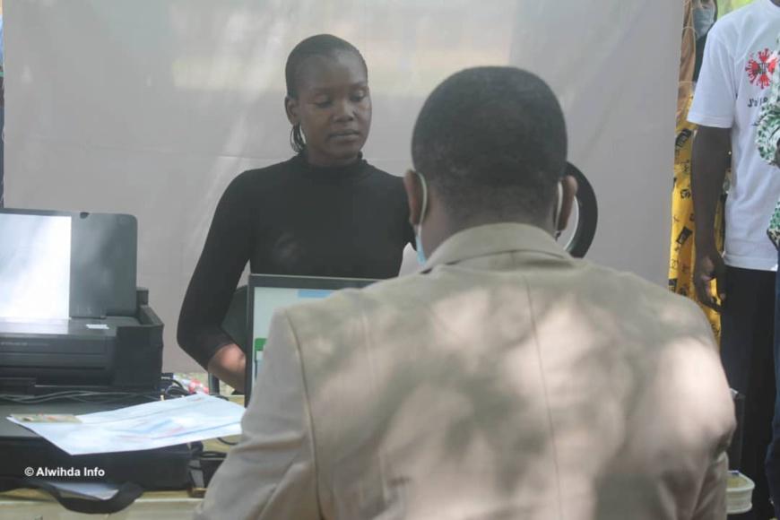 Tchad : la CENI a lancé la révision du fichier électoral. © Steve Djénonkar/Alwihda Info