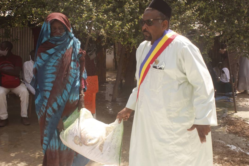 Tchad : le député Ousmane Chérif soulage des ménages