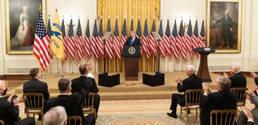 USA : Donald Trump annonce être testé positif au COVID-19