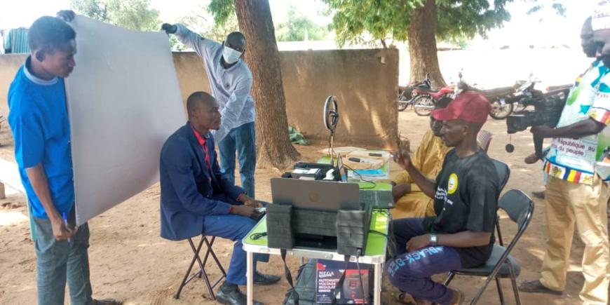 Tchad : à Goz Beida, la CENI appelle à la mobilisation pour le recensement biométrique