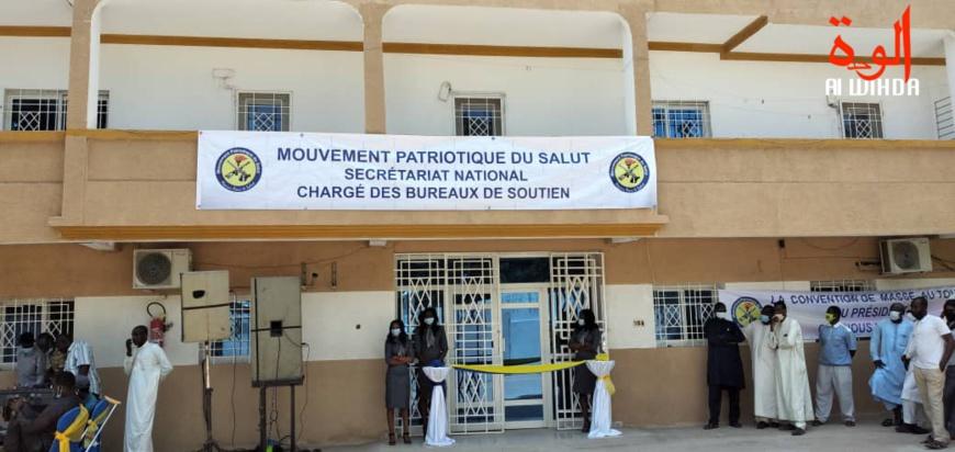 Tchad : organisation des bureaux de soutien, le MPS désigne 63 membres du comité directeur