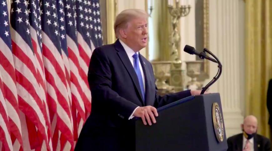USA : atteint de Covid-19, Trump transféré dans un hôpital militaire pour être hospitalisé