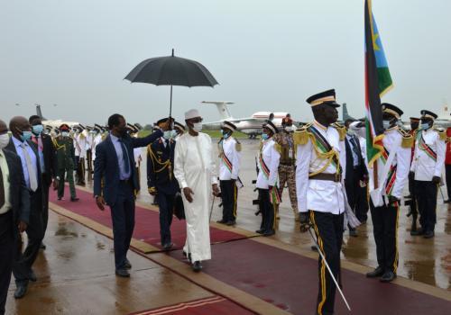 Le président Idriss Déby appelle la communauté internationale à aider le Soudan