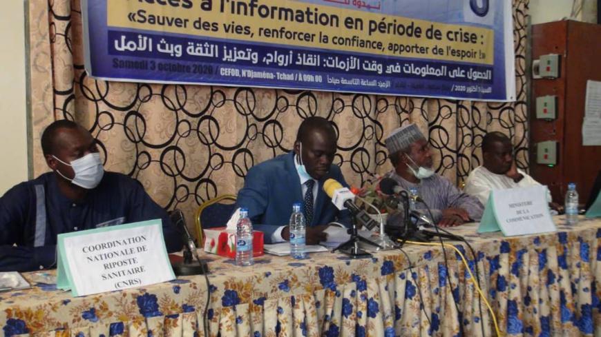 Tchad : l'UJT se penche sur le défi de l'accès à l'information en période de crise