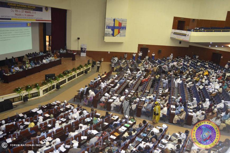 Tchad : le 2ème Forum inclusif est