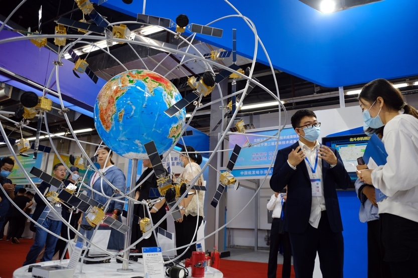 The second high-tech exhibition of Liaoning province and the high-tech exhibition of five northern provinces kicks off at Liaoning Industrial Exhibition Hall, Sept. 18. Photo by Huang Jinkun, People's Daily Online