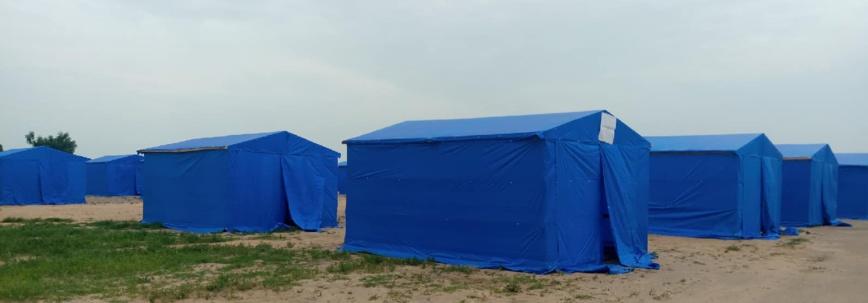 Tchad : des victimes d'inondations acheminées vers le site de Toukra