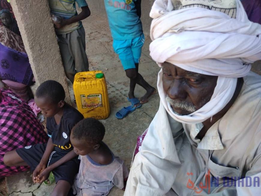 Tchad : des vivres distribués à la population de Kerfi, au Sila