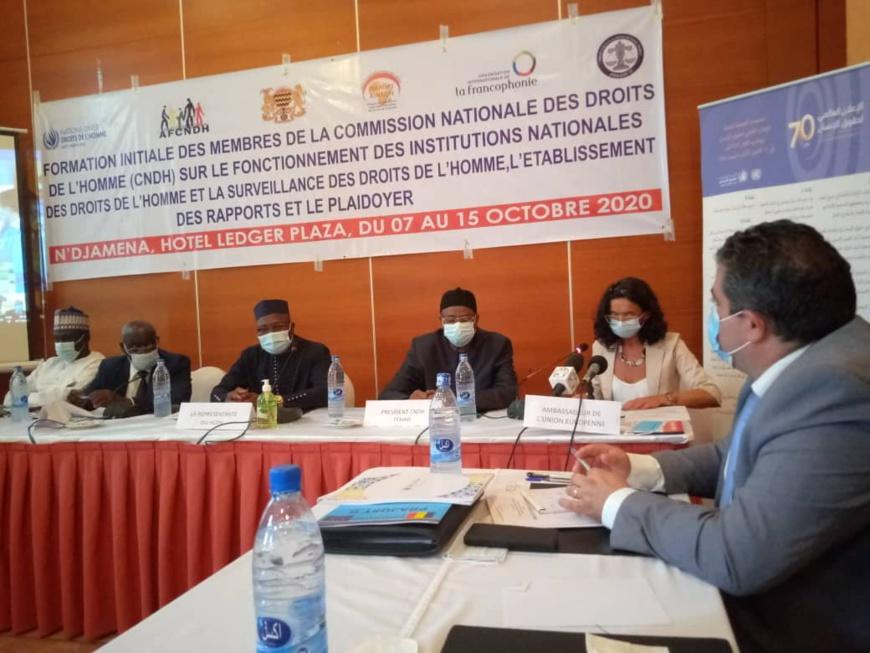 Tchad : les membres de la CNDH se renforcent en surveillance des droits de l'Homme