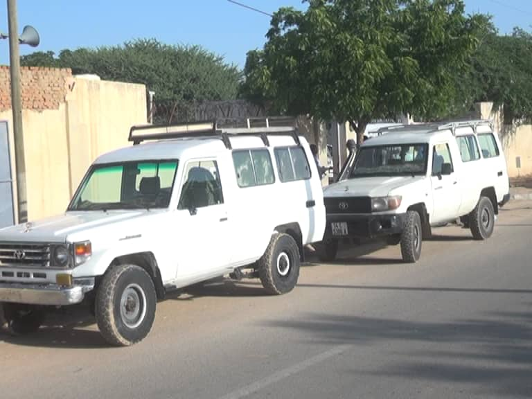 Tchad : des militants du MPS offrent 4 véhicules à la CENI pour appuyer le recensement à l'Est