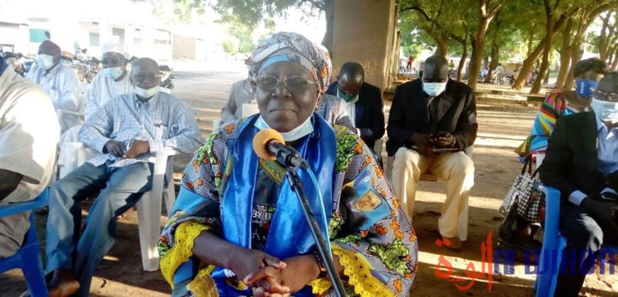 Tchad : la députée Fatimé Tchombi en mission de sensibilisation à Laï