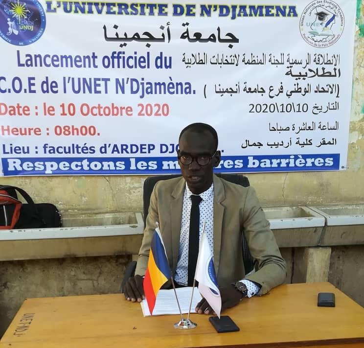 Tchad : l'UNET section de N'Djamena va renouveler son bureau exécutif