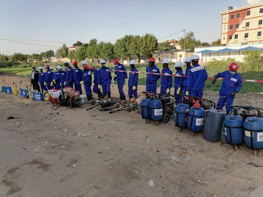 Tchad : une opération de démoustication à N'Djamena initiée par la Première Dame