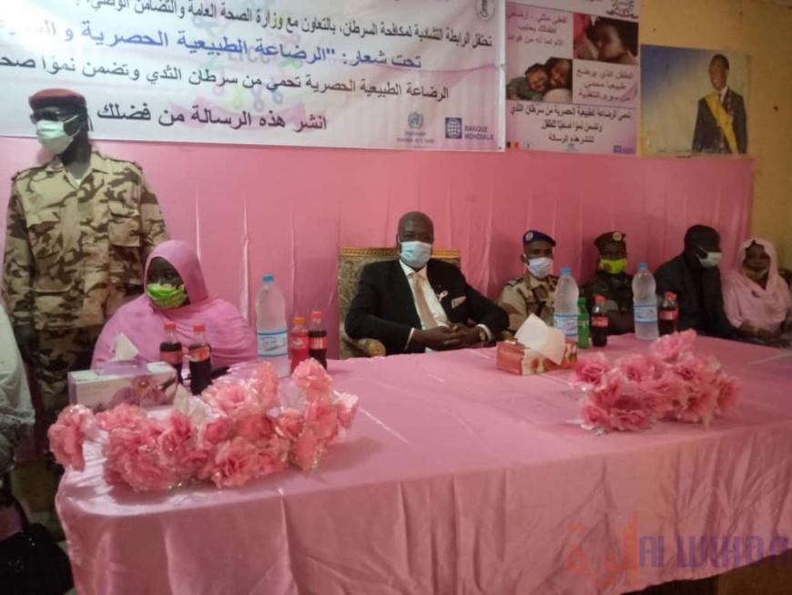 Tchad : Octobre rose, la campagne de lutte contre le cancer du sein lancée au Batha