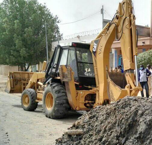 Tchad : la mairie lance le nivellement des rues à N'Djamena