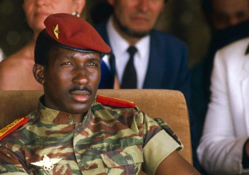 Burkina Faso : 33e anniversaire de la mort du président Thomas Sankara. © DR
