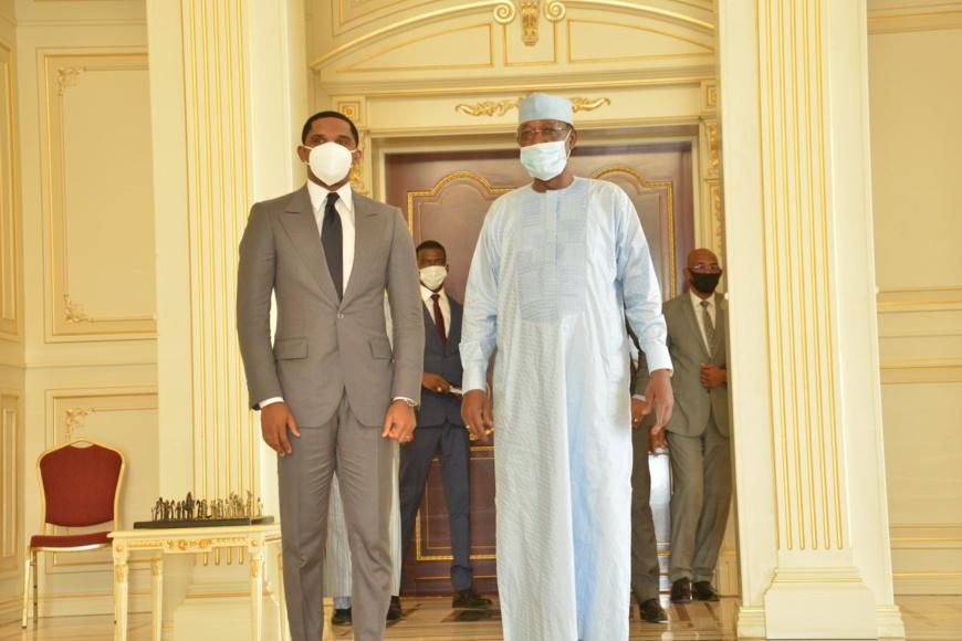 Tchad : Samuel Eto'o reçu à la Présidence