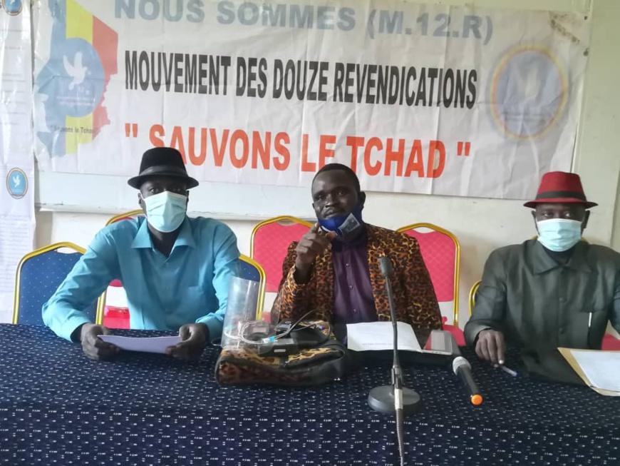 Tchad : le M12R souhaite un dialogue national avec la participation de toute la société