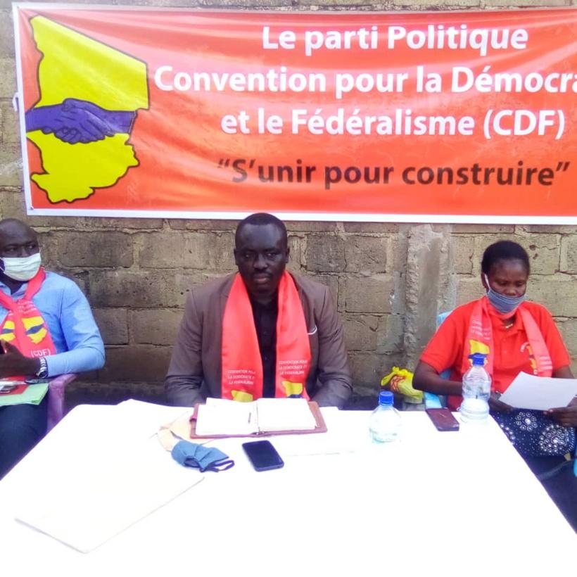 Tchad : le parti CDF appelle le gouvernement à ne pas se détourner des priorités sociales