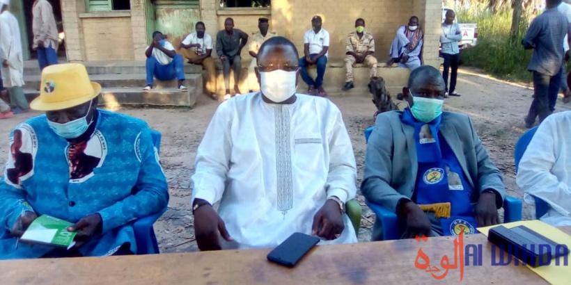 Tchad : en tournée politique, Padare exhorte à mettre les bouchées doubles pour le recensement