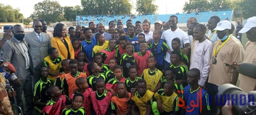 Tchad : 15 jeunes joueurs vont intégrer une école de football au Cameroun