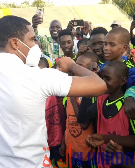 Tchad : 15 jeunes joueurs vont intégrer une école de football au Cameroun. © Malick Mahamat/Alwihda Info