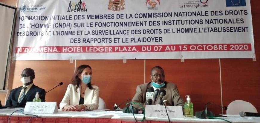 Tchad : la CNDH s'approprie des techniques de surveillance des droits de l'Homme