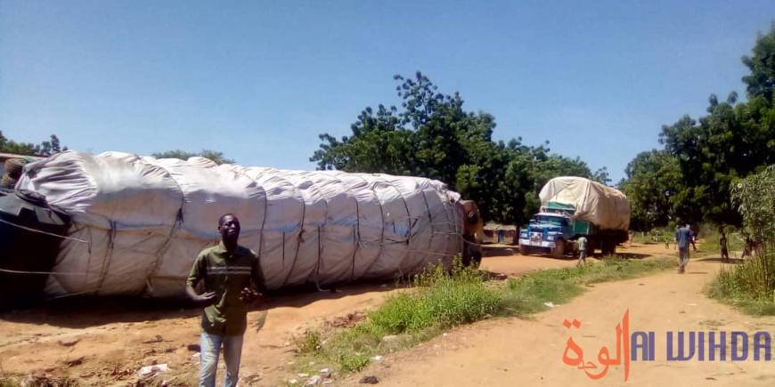 Tchad : un gros porteur se renverse à Pala bloquant l'axe menant à Léré