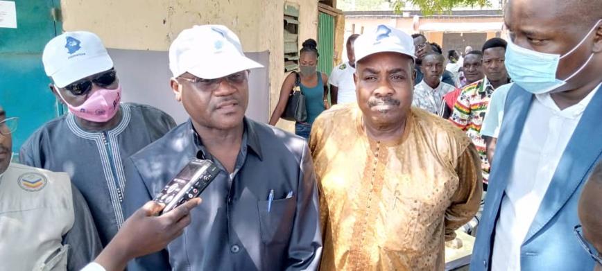 Tchad : la CASCIDHO visite les centres de recensement et préconise un prolongement