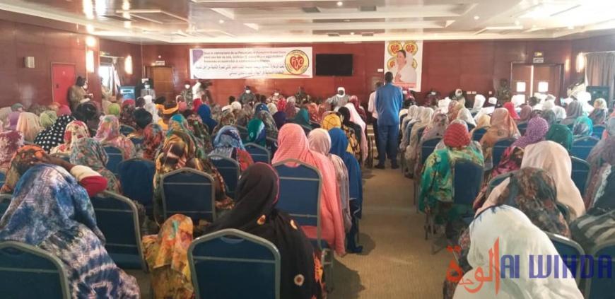 Tchad : la Fondation Grand Cœur incite au leadership et à l'entrepreneuriat féminin au Ouaddaï. ©Hamid Mahamat Issa/Alwihda Info