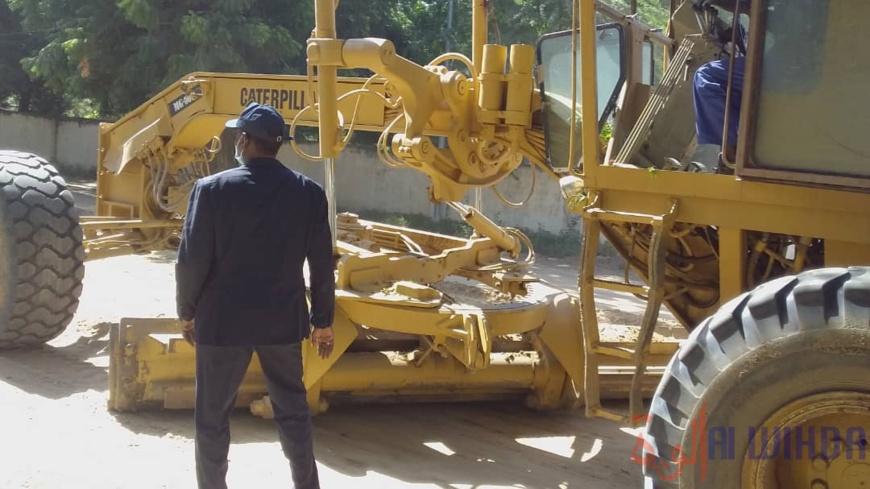 Tchad : les travaux de nivelage des rues progressent à Ati