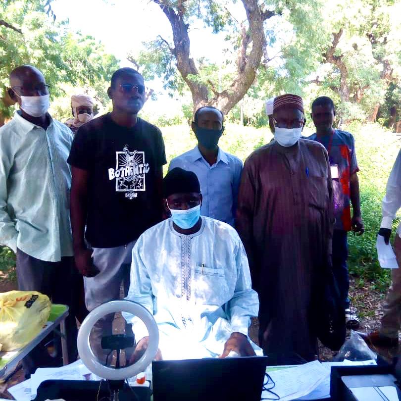 Tchad : Le préfet de la Kabbia s'imprègne du respect des mesures barrières