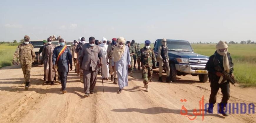 Tchad : en mission à Laï, le ministre de la sécurité donne plusieurs orientations