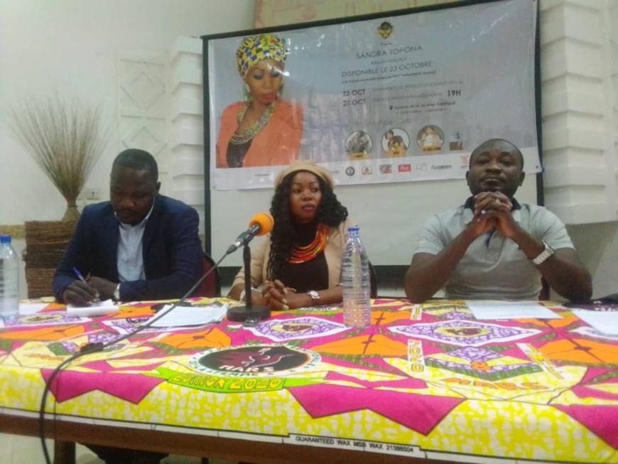 Tchad : l'artiste Sandra Topna annonce la sortie de son 1er album