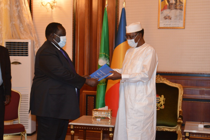 Tchad : un émissaire sud-soudanais reçu à la Présidence