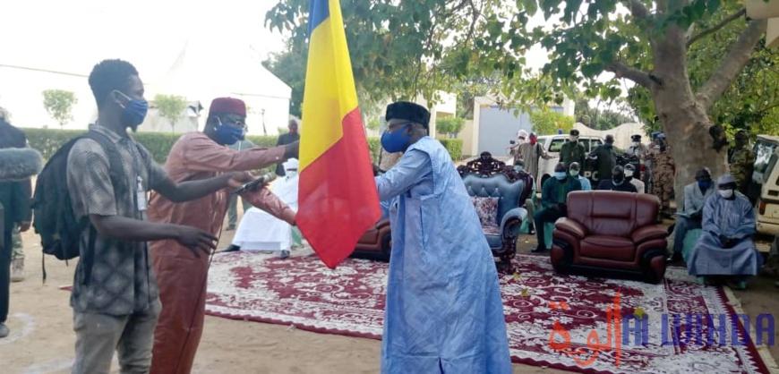 Tchad : le nouveau gouverneur de la Tandjilé, Bourdanet Waguing, installé dans ses fonctions