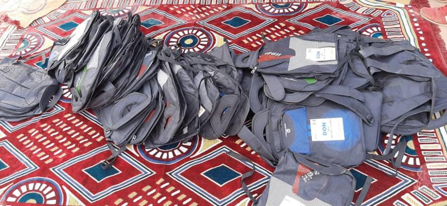 Tchad : le Rotary Club offre des kits scolaires à des enfants atteints de poliomyélite