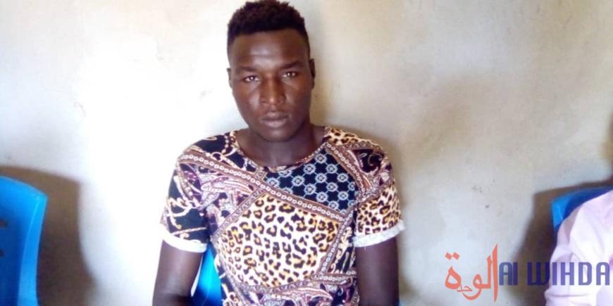 Tchad : le meilleur gardien du championnat national de foot, Bouba Sanda, récompensé