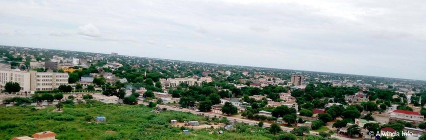 Une vue de la ville de N'Djamena. © Alwihda Info